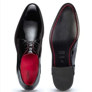 Hugo Boss | Derby Shoes Black Patent Leather